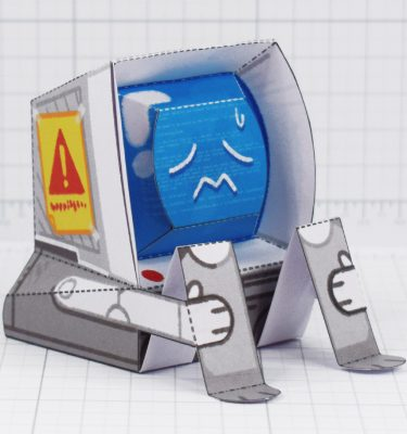 PTI-Depressed Disk Drive - Fold Up Toy - Main