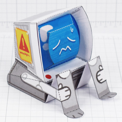 PTI-Depressed Disk Drive - Fold Up Toy - Thumnail