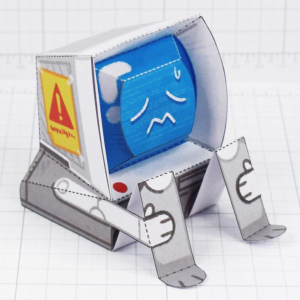 PTI-Depressed Disk Drive - Fold Up Toy - Top