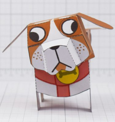 PTI - Puddle Pooch Fold Up Toys - Front