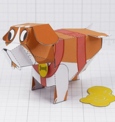 PTI - Puddle Pooch Fold Up Toys - Main