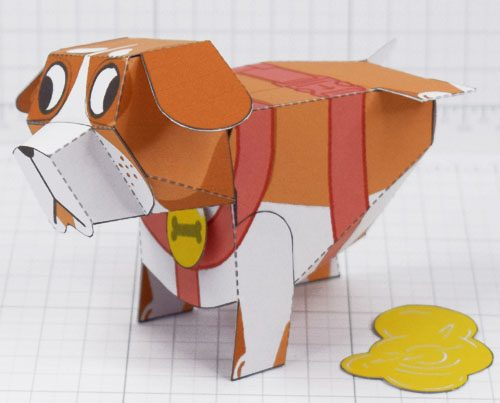 PTI - Puddle Pooch Fold Up Toys - Thumbnail