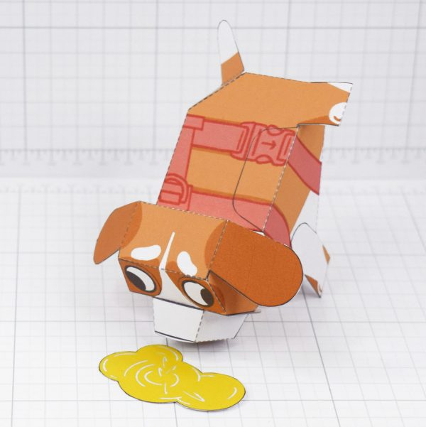 PTI - Puddle Pooch Fold Up Toys - Top